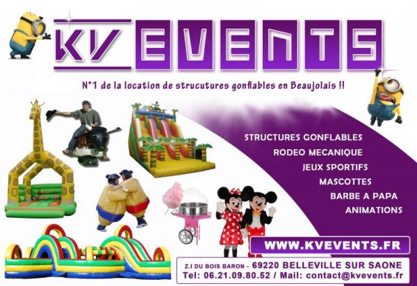 LOCATION STRUCTURES GONFLABLES A LYON